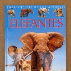Enciclopedias: ELEFANTES (ENCICLOPEDIA DE LOS ANIMALES) PANINI. Lote 211650835