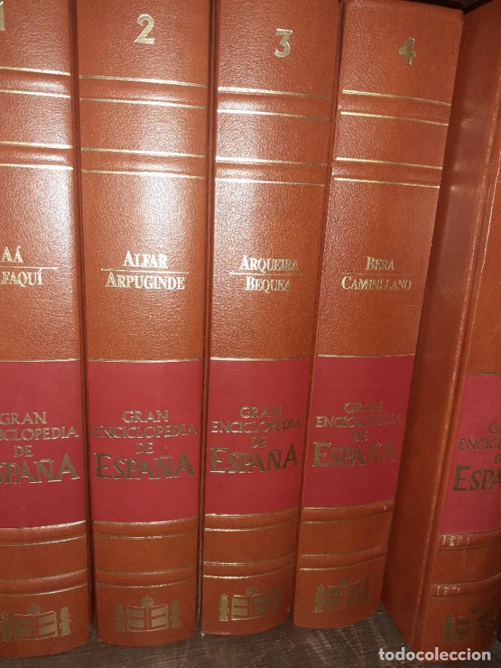 GRAN ENCICLOPEDIA DE ESPAÑA. (10 PRIMEROS VOLÚMENES) (Libros Nuevos - Diccionarios y Enciclopedias - Enciclopedias)