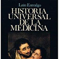Enciclopedias: HISTORIA UNIVERSAL DE LA MEDICINA - PEDRO LAÍN ENTRALGO - PLANETA.. Lote 213903725
