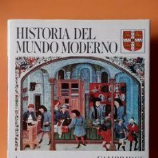Enciclopedias: HISTORIA DEL MUNDO MODERNO - VARIOS AUTORES - CAMBRIDGE UNIVERSITY PRESS, 1988. Lote 213910686