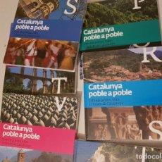 """Enciclopedias: ENCICLOPÈDIA """"CATALUNYA, POBLE A POBLE"""" 14 VOLUMS. PER ESTRENAR. Lote 214078666"""