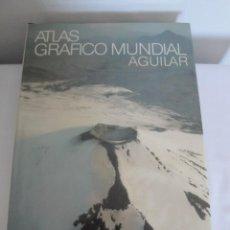 Enciclopedias: ATLAS GRÁFICO MUNDIAL. AGUILAR, AÑO 1981. MEDIDAS 41 X 27 CM..NUEVO CON EMBALAJE CARTÓN ORIGINAL.. Lote 214431941