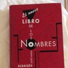 Enciclopedias: EL NUEVO LIBRO DE LOS NOMBRES. Lote 217900776