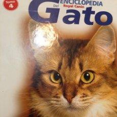Enciclopedias: ENCICLOPEDIA ROYAL CANIN DEL GATO 4 TOMOS TAPA DURA. Lote 222384278