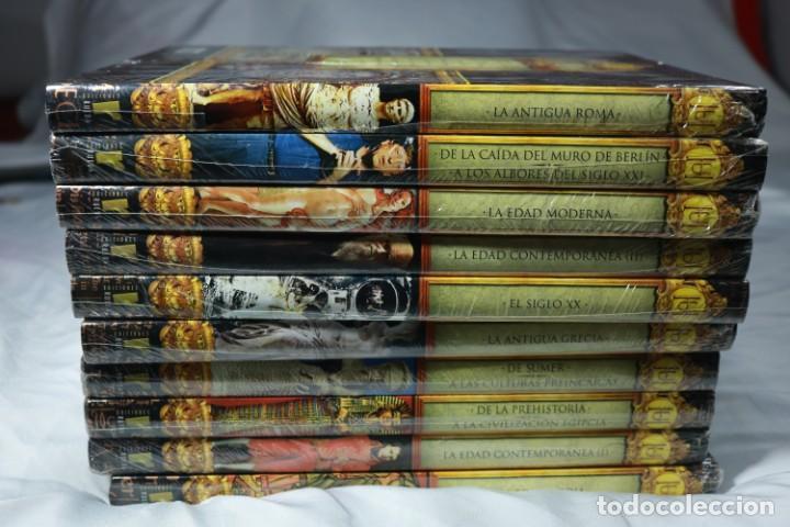 ¡PRECINTADO! - ENCICLOPEDIA HISTORIA UNIVERSAL - 10 TOMOS COMPLETOS - EDICIONES RUEDA (Libros Nuevos - Diccionarios y Enciclopedias - Enciclopedias)