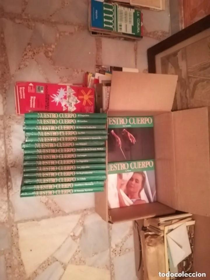 ENCICLOPEDIA MARAVILLAS DE NUESTRO CUERPO. COMPLETA, NUEVA, SIN ESTRENAR. DE EDITORIAL. CLUB INTERN. (Libros Nuevos - Diccionarios y Enciclopedias - Enciclopedias)