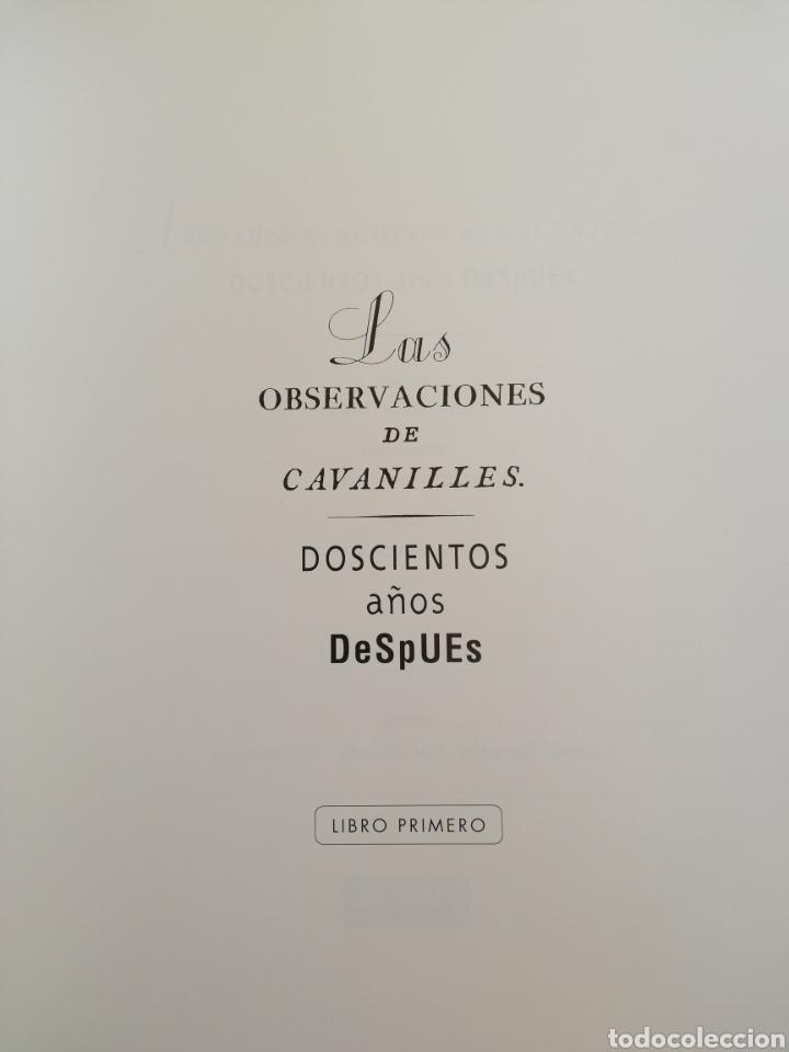 Enciclopedias: Las observaciones de Cavanilles - LIBRO primero - Foto 2 - 222972435