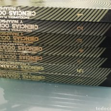 Enciclopedias: ENCICLOPEDIA CIENCIAS OCULTAS Y PARAPSICOLOGIA. Lote 224894546