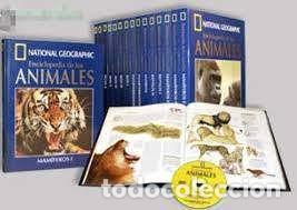COLECCIÓN NATIONAL GEOGRAPHI- ENCICL. DE LOS ANIMALES (Libros Nuevos - Diccionarios y Enciclopedias - Enciclopedias)