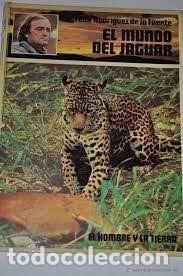 Enciclopedias: EL HOMBRE Y LA TIERRA - EL MUNDO DEL JAGUAR - Foto 2 - 225276431