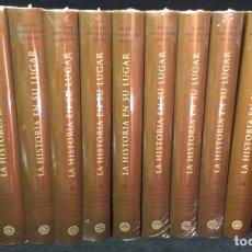 Livros: LA HISTORIA EN SU LUGAR - 10 TOMOS - EDITORIAL PLANETA - PRECINTADA. Lote 225776330
