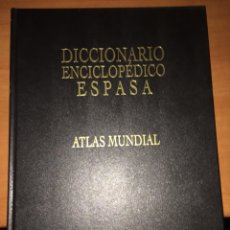 Enciclopedias: ATLAS MUNDIAL. ESPASA CALPE. 1997. Lote 227728580