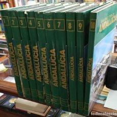 Enciclopedias: GRAN ENCICLOPEDIA DE ANDALUCÍA. 10 TOMOS. A-ENC-502-SF. Lote 227825560
