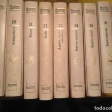 "Livros: COLECCION DE LIBROS ""HISTORIA NATURAL DEL PAISOS CATALANS"". Lote 227945072"