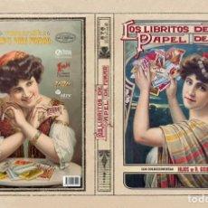 Enciclopedias: LOS LIBRITOS DE PAPEL DE FUMAR. Lote 228358303