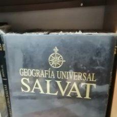 Enciclopedias: GEOGRAFÍA UNIVERSAL SALVAT. Lote 228407295
