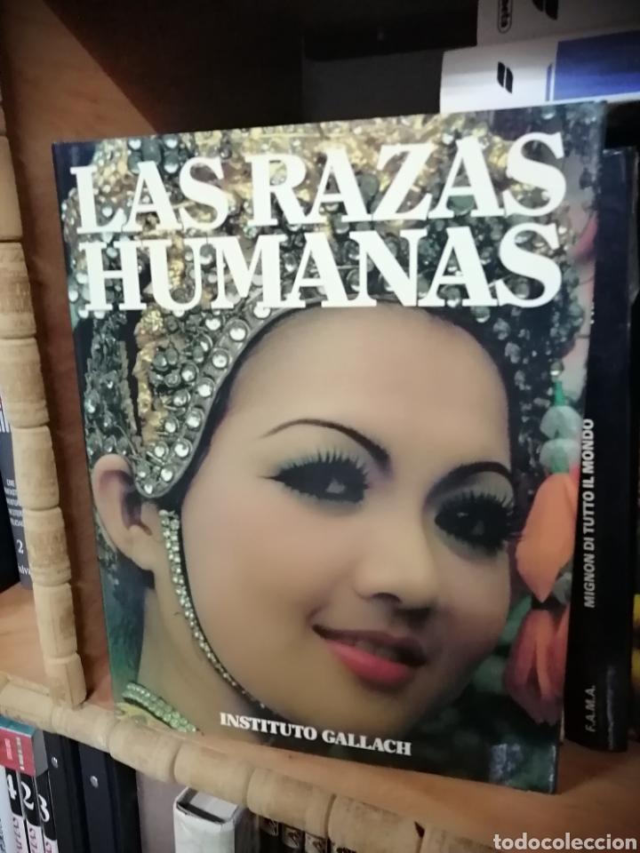 LAS RAZAS HUMANAS (Libros Nuevos - Diccionarios y Enciclopedias - Enciclopedias)
