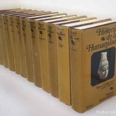 Livres: COLECCIÓN HISTORIA DE LA HUMANIDAD. Lote 229164860