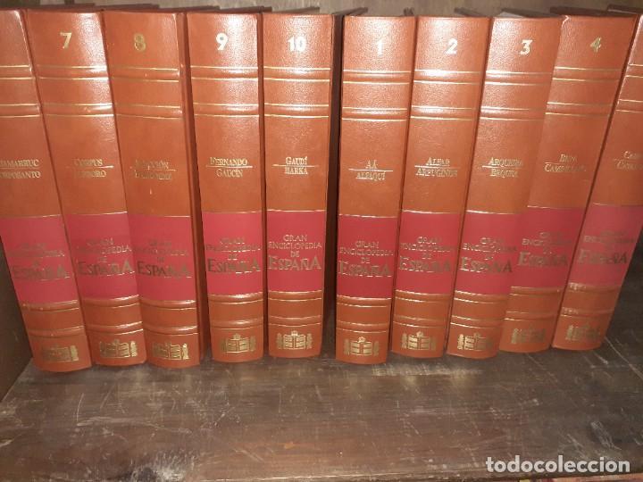 Enciclopedias: Gran Enciclopedia de España. (10 primeros volúmenes) - Foto 2 - 213524626