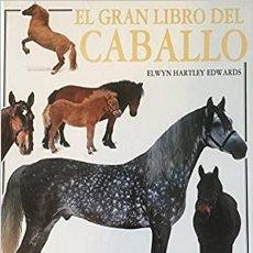 Enciclopedias: EL GRAN LIBRO DEL CABALLO (ESPAÑOL) TAPA BLANDA – 1 FEBRERO 1991 DE ELWYN HARTLEY EDWARDS. Lote 231554650