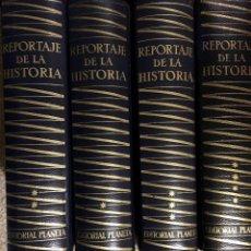 Livros: REPORTAJE DE LA HISTORIA. Lote 232380840