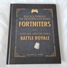 Enciclopedias: ENCICLOPEDIA DE ESTRATEGIA PARA FORNITERS. JASON R. RICHT. Lote 232696400