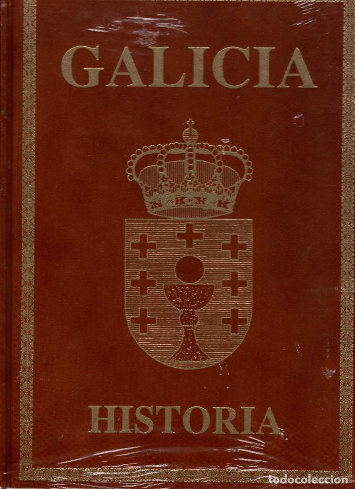8 LIBROS PROYECTO GALICIA EDITORIAL HÉRCULES EN SU EMBALAJE ORIGINAL-HISTORIA TOMOS I-VIII (Libros Nuevos - Diccionarios y Enciclopedias - Enciclopedias)