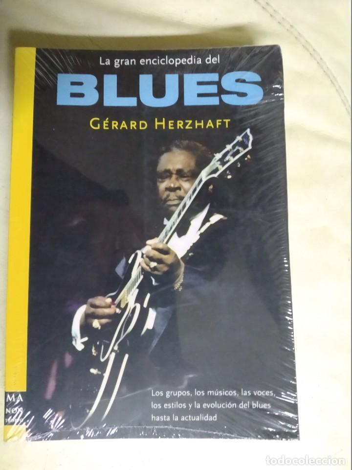 Enciclopedias: LA GRAN ENCICLOPEDIA DEL BLUES 2003 - Gerard Herzhaft - 450 páginas - Foto 2 - 237016995