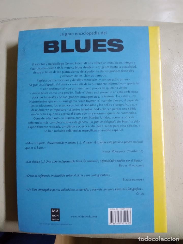 Enciclopedias: LA GRAN ENCICLOPEDIA DEL BLUES 2003 - Gerard Herzhaft - 450 páginas - Foto 3 - 237016995