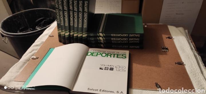 Enciclopedias: Enciclopedia Salvat Deportes nueva - Foto 2 - 238155355