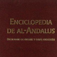 Enciclopedias: ENCICLOPEDIA DE AL-ANDALUS.. Lote 238862690