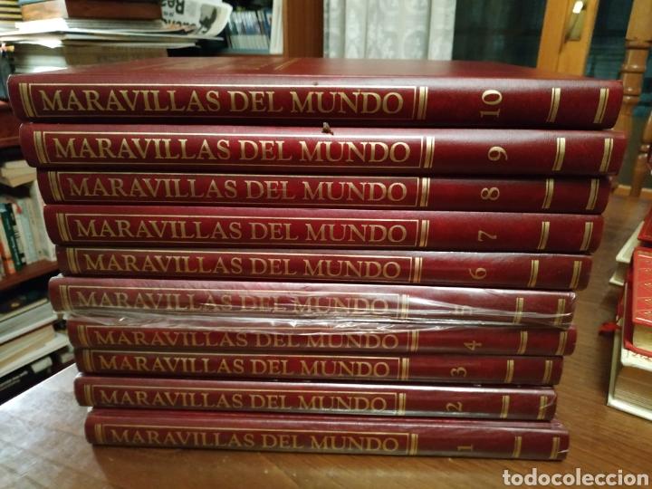 Enciclopedias: Maravillas del mundo. 10 tonos. Salvat. 1992 - Foto 2 - 241281855