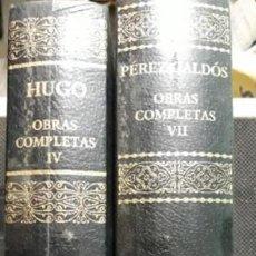 Enciclopedias: OBRAS COMPLETAS. AGUILAR.. Lote 242253100