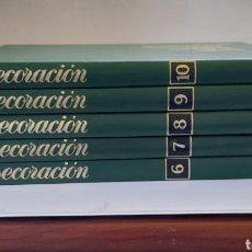 Enciclopedias: ENCICLOPEDIA SALVAT DE LA DECORACIÓN. TOMOS 6, 7, 8, 9 Y 10. Lote 243391650