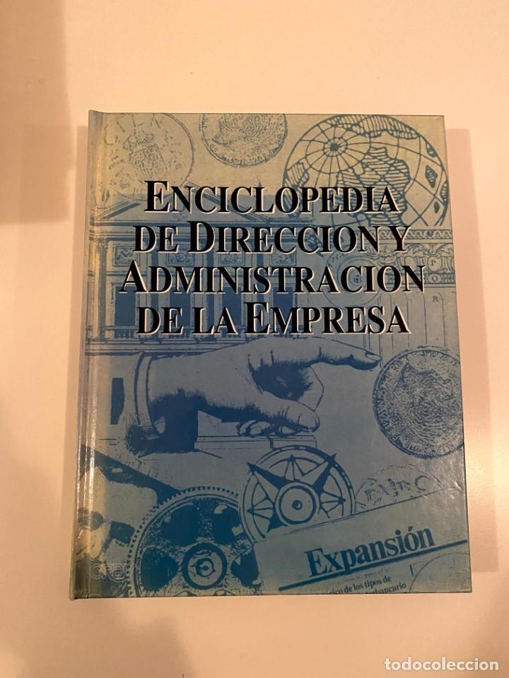 """""""ENCICLOPEDIA DE DIRECCIÓN Y ADMINISTRACIÓN DE LA EMPRESA"""" - EXPANSION (Libros Nuevos - Diccionarios y Enciclopedias - Enciclopedias)"""