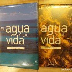 Enciclopedias: EL AGUA Y LA VIDA 6 TOMOS COMPLETA - PRECINTADA. Lote 246053830