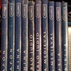 Enciclopedias: LIBROS ATLAS CULTURALES DEL MUNDO, 10 TOMOS, COLECCIÓN EDICIONES DEL PRADO, 1992. Lote 249096475