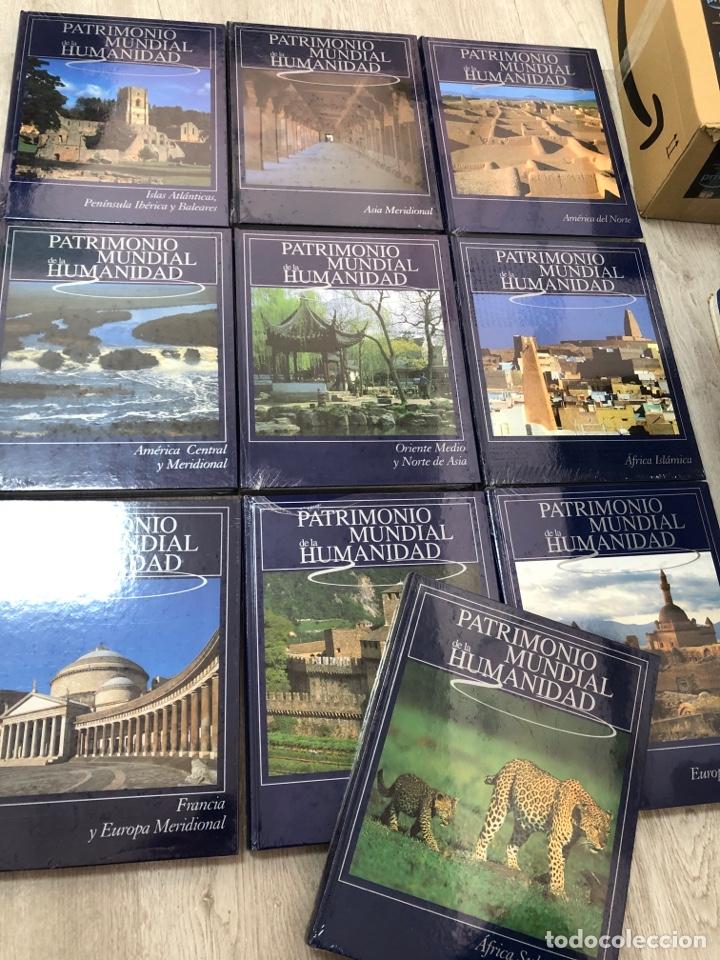 COMPLETA PRECINTADA PATRIMONIO DE LA HUMANIDAD ENCICLOPEDIA RUEDA AFRICA OCEANIA EUROPA ORIENTE ASIA (Libros Nuevos - Diccionarios y Enciclopedias - Enciclopedias)