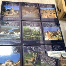 Livros: COMPLETA PRECINTADA PATRIMONIO DE LA HUMANIDAD ENCICLOPEDIA RUEDA AFRICA OCEANIA EUROPA ORIENTE ASIA. Lote 250141985