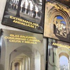 Livros: COMPLETA Y PRECINTADA 9 TOMOS NUESTROS PUEBLOS - ED RUEDA ALICANTE ANDALUCIA EXTREMADURA NAVARRA. Lote 250152330