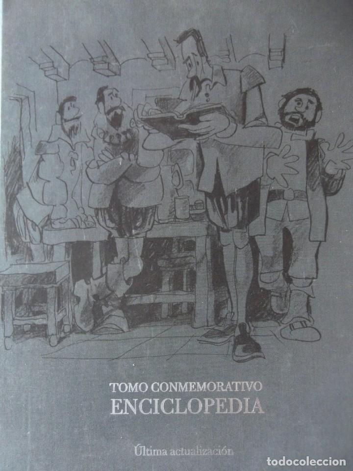 TOMO CONMEMORATIVO ENCICLOPEDIA , ÚLTIMAS ACTUALIZACIONES DE 30 X 24 CM Y 4 DE GORDO (Libros Nuevos - Diccionarios y Enciclopedias - Enciclopedias)