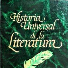 Enciclopedias: HISTORIA UNIVERSAL DE LA LITERATURA. 6 TOMOS. ARGOS VERGARA. Lote 253750515