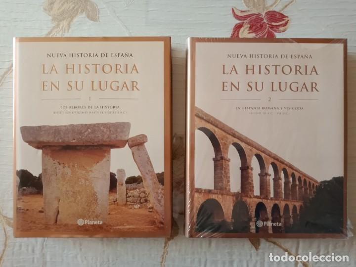 Enciclopedias: LA HISTORIA EN SU LUGAR - ED. PLANETA - 10 TOMOS y 10 DVDs - Foto 2 - 254352395