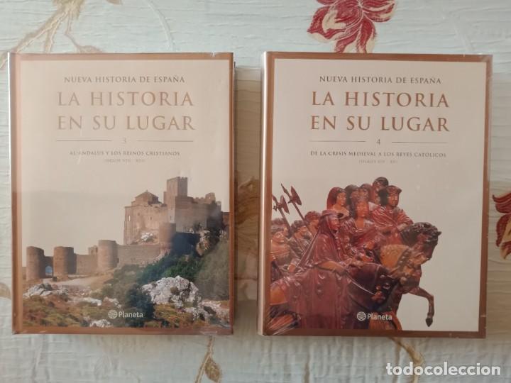 Enciclopedias: LA HISTORIA EN SU LUGAR - ED. PLANETA - 10 TOMOS y 10 DVDs - Foto 3 - 254352395