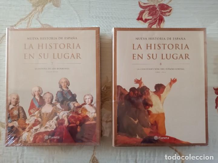 Enciclopedias: LA HISTORIA EN SU LUGAR - ED. PLANETA - 10 TOMOS y 10 DVDs - Foto 5 - 254352395