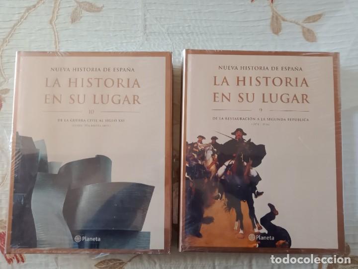 Enciclopedias: LA HISTORIA EN SU LUGAR - ED. PLANETA - 10 TOMOS y 10 DVDs - Foto 6 - 254352395