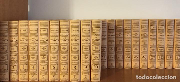 COSSIO, LOS TOROS, ESPASA CALPE (2007) COMPLETA. 30 TOMOS (Libros Nuevos - Diccionarios y Enciclopedias - Enciclopedias)