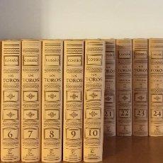 Enciclopedias: COSSIO, LOS TOROS, ESPASA CALPE (2007) COMPLETA. 30 TOMOS. Lote 254946560