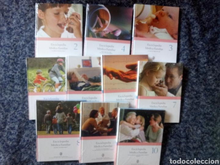ENCICLOPEDIA MÉDICA FAMILIAR NUEVO PRECINTADO 10 TOMOS UNIVERSIDAD DE NAVARRA (Libros Nuevos - Diccionarios y Enciclopedias - Enciclopedias)