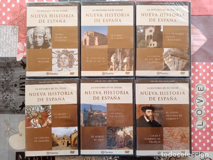 Enciclopedias: LA HISTORIA EN SU LUGAR - ED. PLANETA - 10 TOMOS y 10 DVDs - Foto 14 - 254352395